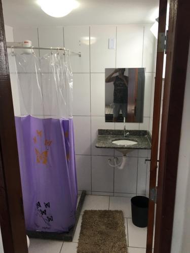 A bathroom at Arraial Hospedagem