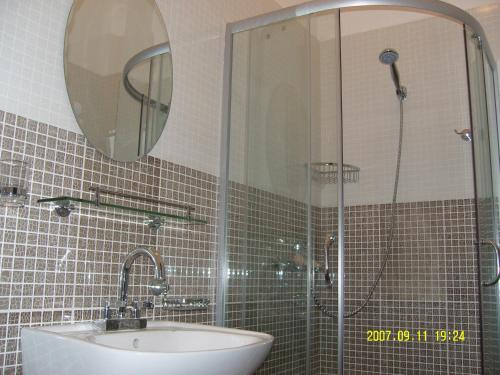 A bathroom at Tsolmon's Serviced Apartments