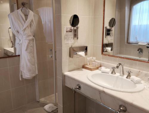 Salle de bains dans l'établissement Chateau De Rilly - Les Collectionneurs
