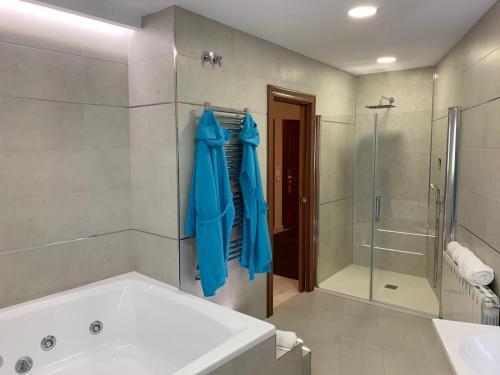 A bathroom at Nuevo Palas