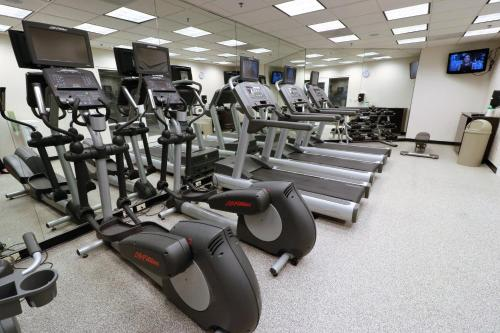 The fitness center and/or fitness facilities at Fairfield Inn & Suites by Marriott San Antonio Downtown/Alamo Plaza