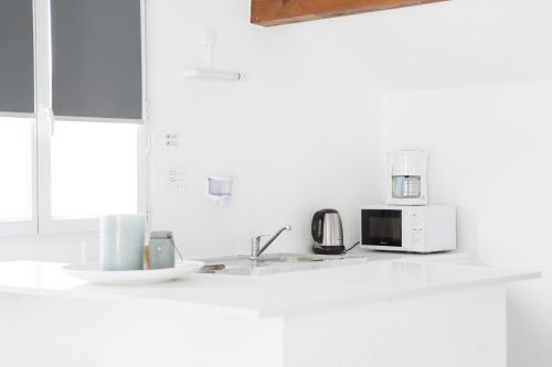 A kitchen or kitchenette at Zenitude Hôtel-Résidences La Versoix