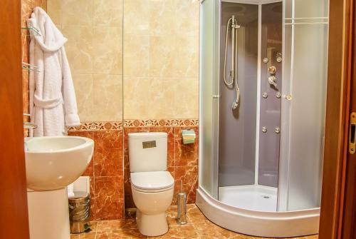 Ванная комната в Гостиница Ностальжи