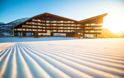 Myrkdalen Resort Hotel en invierno