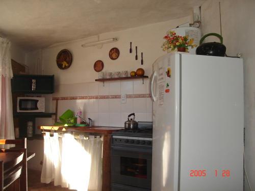 Una cocina o kitchenette en Cabañas Esferas de Cristal