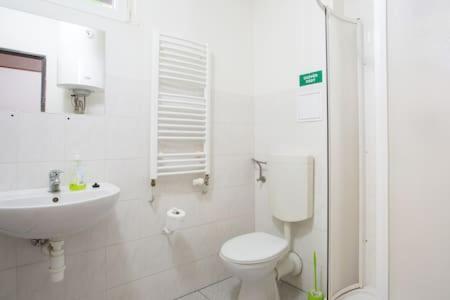 A bathroom at Smolné Pece