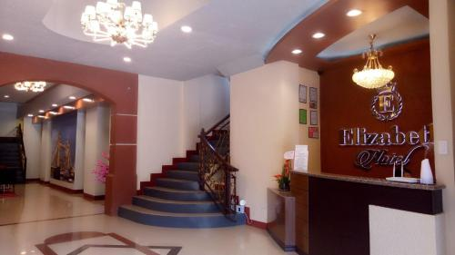 The lobby or reception area at Elizabeth Hotel - Naga