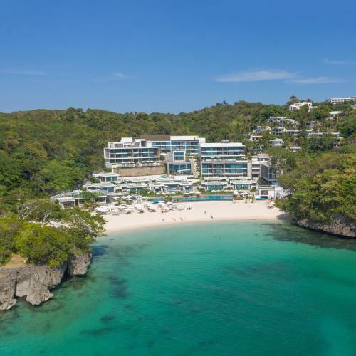 A bird's-eye view of Crimson Resort and Spa Boracay