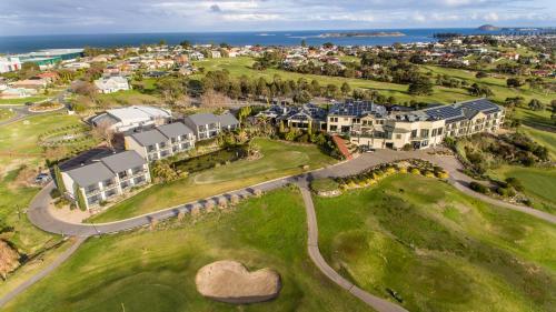 A bird's-eye view of McCracken Country Club