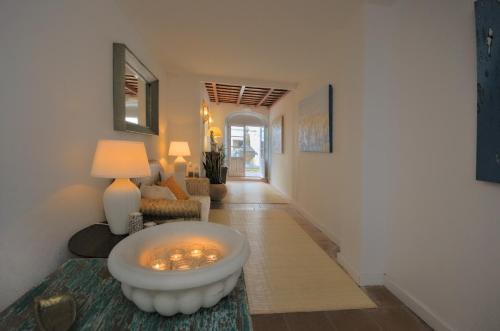 Zona de estar de Benali Guest House