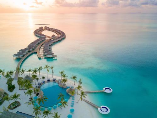 A bird's-eye view of Kandima Maldives