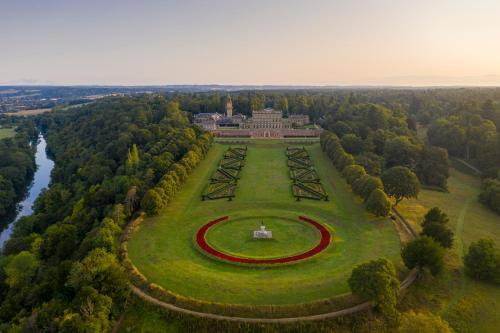 A bird's-eye view of Cliveden House