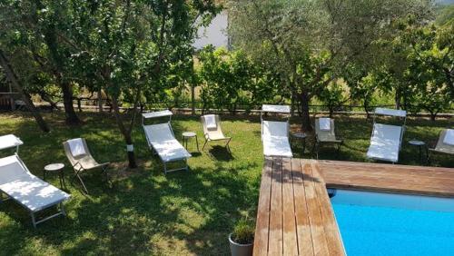 Der Swimmingpool an oder in der Nähe von Salvia e Rosmarino