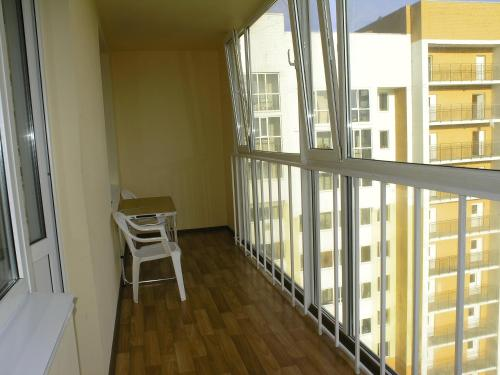 A balcony or terrace at Apartments on Buinskiy 1