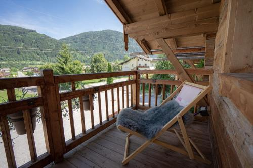 Ein Balkon oder eine Terrasse in der Unterkunft LISA-Chalets - contactless check-in