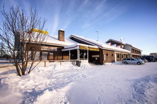 Kultahippu Hotel & Apartments talvella