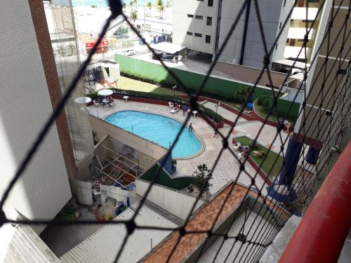 A view of the pool at Residence Porto de Iracema or nearby