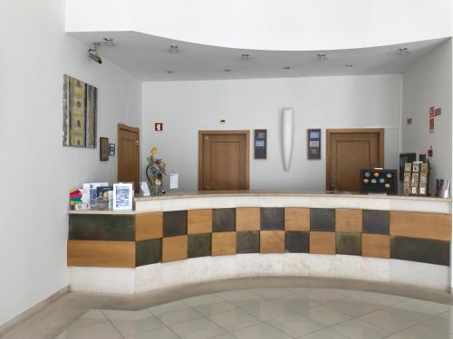 The lobby or reception area at Hotel Francis