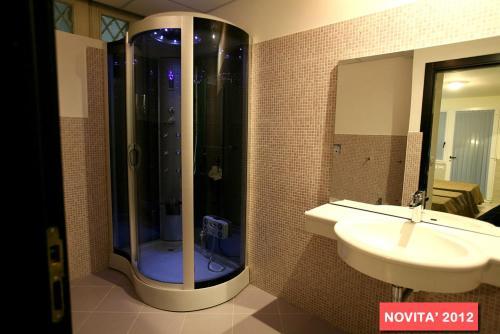 Salle de bains dans l'établissement Hotel Splendid Mare