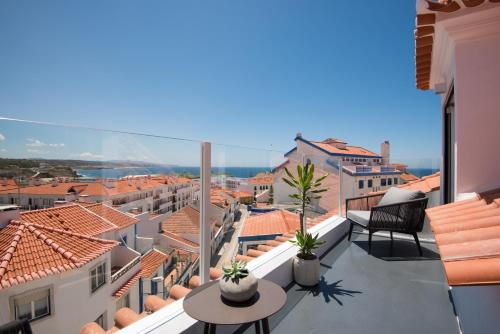 A balcony or terrace at Reserva FLH Hotels Ericeira