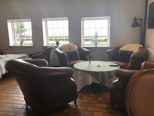 Et opholdsområde på Munkebo Kro & Hotel