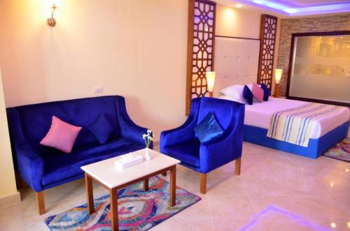 Зона вітальні в Sea Beach Aqua Park Resort