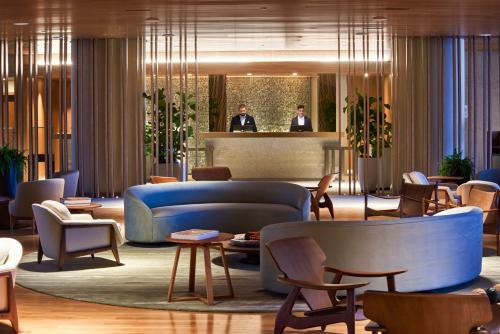 The lobby or reception area at Fairmont Rio de Janeiro Copacabana