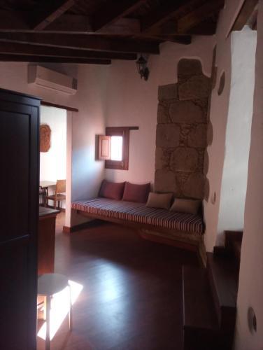 Zona de estar de Rural Suite Santiago de Tunte