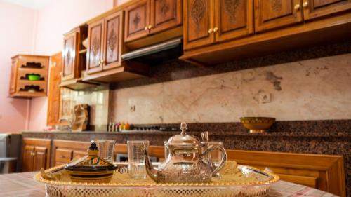 A kitchen or kitchenette at Palais Chehrazad