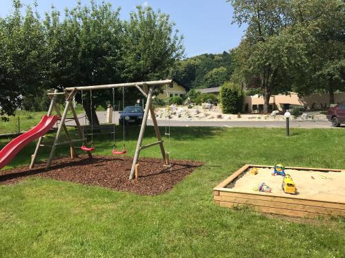 Children's play area at Das Herbst