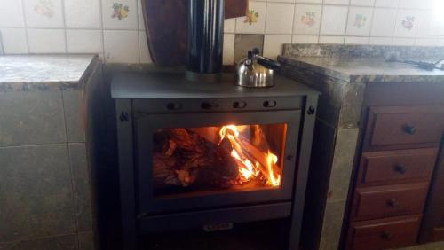 Una cocina o kitchenette en La María