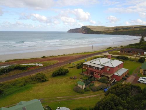 A bird's-eye view of Cape Bridgewater Seaview Lodge