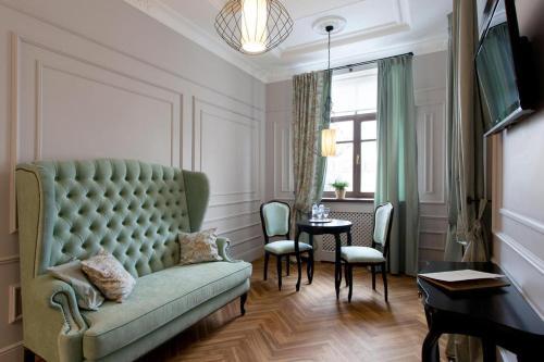 Гостиная зона в Винсент Отель