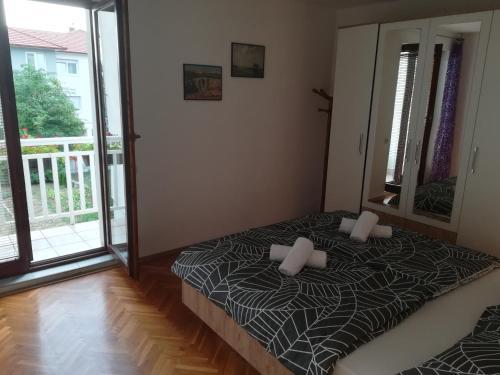 Krevet ili kreveti u jedinici u objektu Apartman Lidija