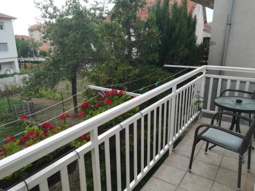 Balkon ili terasa u objektu Apartman Lidija