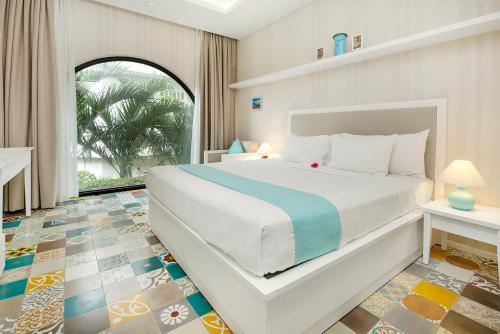Lief Pulo Sai Gon房間的床