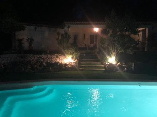 The swimming pool at or near Le Clos de St Esprit