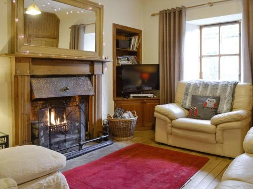 A seating area at Willow Cottage