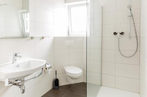Ein Badezimmer in der Unterkunft Boardinghaus Modern Living