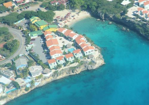 Uma vista aérea de Lagoon Ocean Resort