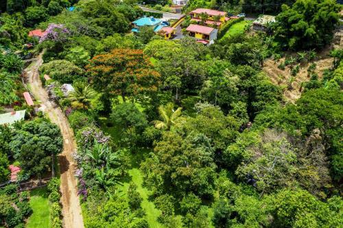 A bird's-eye view of La Terraza Guest House