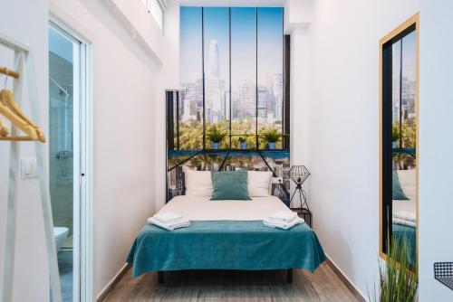 Cama o camas de una habitación en Hostly SEVILLA CENTRO O'DONNELL B