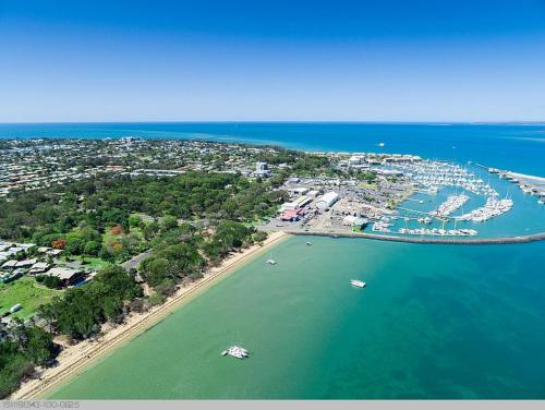 A bird's-eye view of Boat Harbour Studio Apartments and Villas