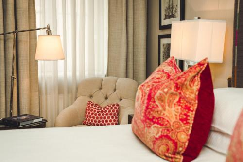Кровать или кровати в номере Grand Palace Hotel - The Leading Hotels of the World