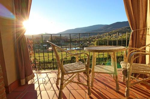 A balcony or terrace at El Secadero