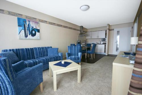 Zona de estar de Apparthotel Birkenhof