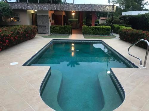 The swimming pool at or near Casa de Los Suenos B&B Coronado Panama