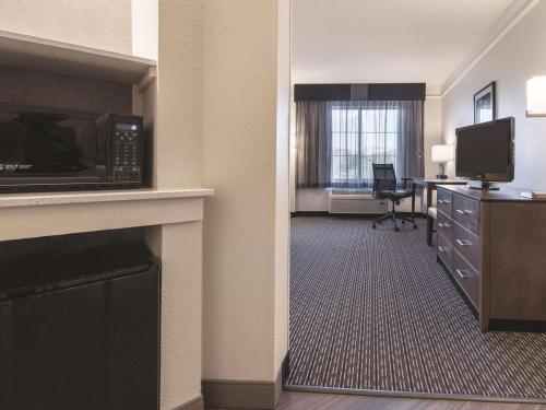 A television and/or entertainment centre at La Quinta by Wyndham Grand Junction