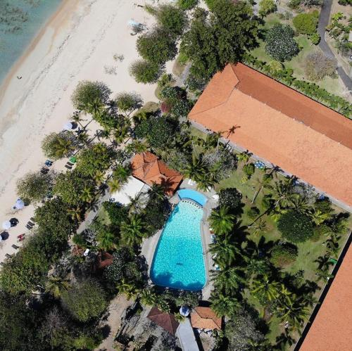 A bird's-eye view of Inna Bali Beach Garden