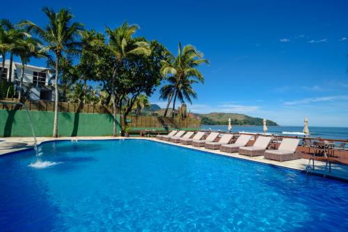 The swimming pool at or near Coconut's Maresias Hotel